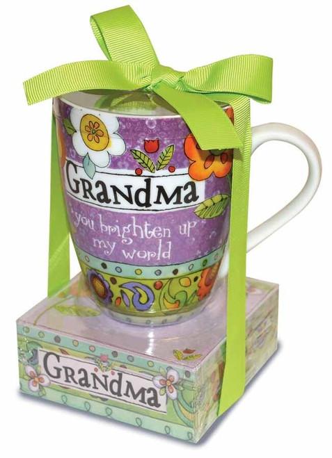 Mug & Notepad Giftset: Grandma