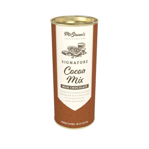 MCSTEVEN'S SIGNATURE MILK CHOCOLATE COCOA MIX