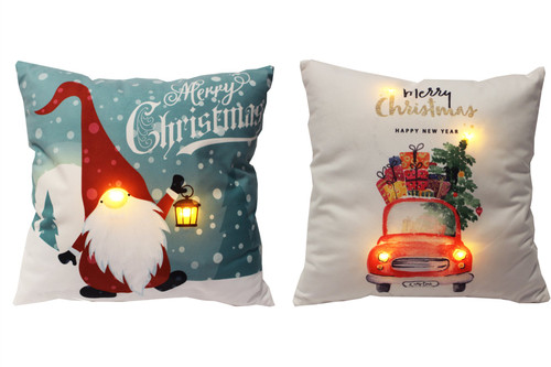 LED Cushion Gnomes 2 Styles to choose from