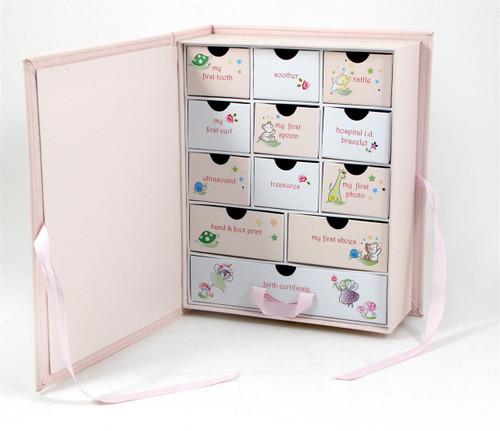 Baby Keepsake Box - Pink