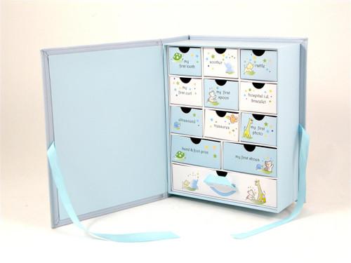 Baby Keepsake Box - Blue