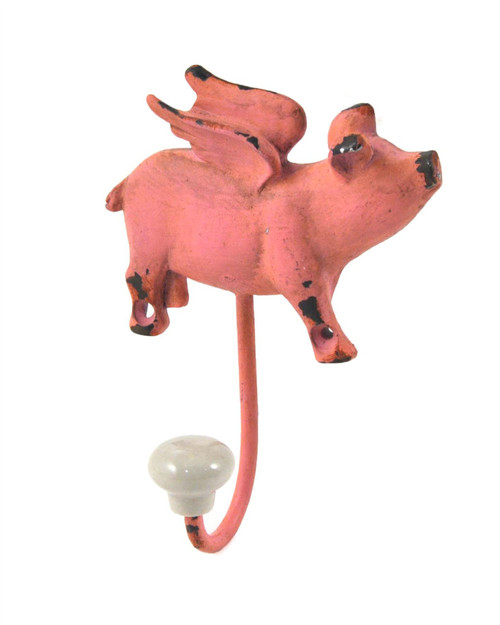 Flying Pig Hook Metal