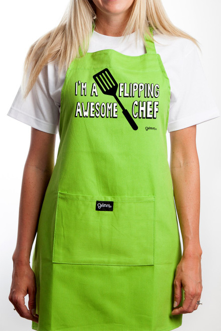 Apron - Flipping Awesome Chef