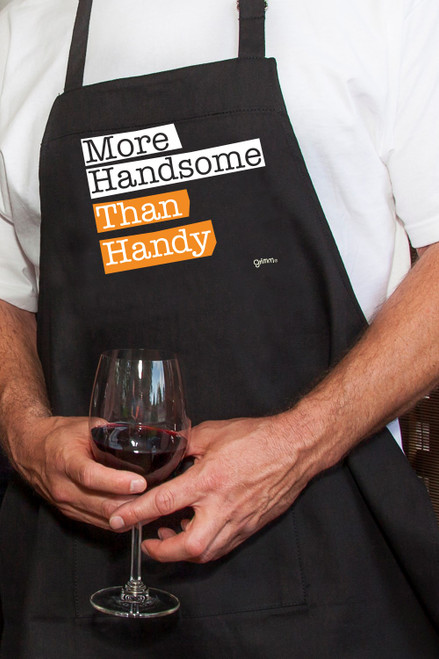 Apron - Men's More Handsome than Handy