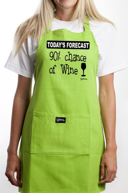 Apron - 90% Chance Of Wine
