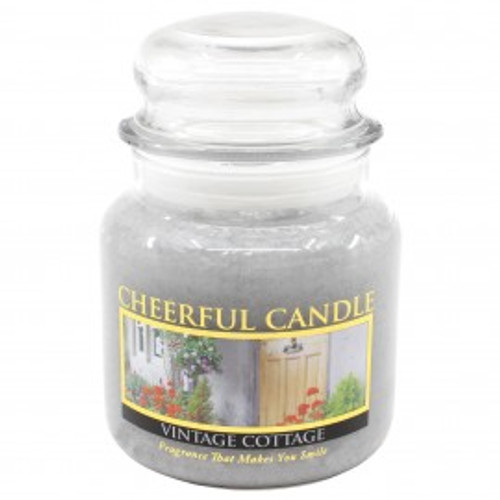 Vintage Cottage Cheerful Candle 16oz.