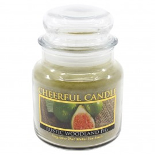 Rustic Woodland Fig Cheerful Candle 16 oz.