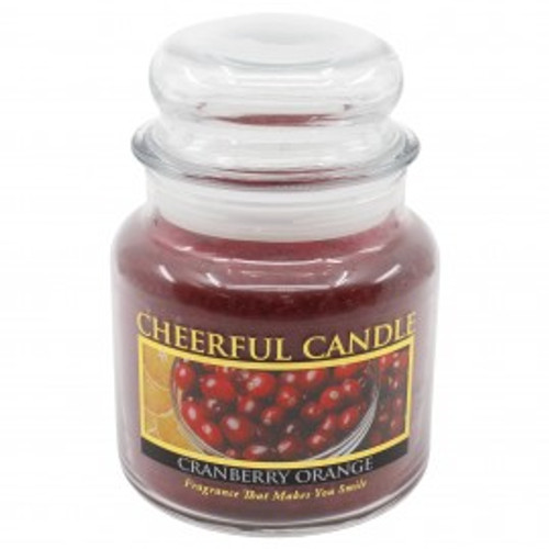 Cranberry Orange Cheerful Candle 16 oz.