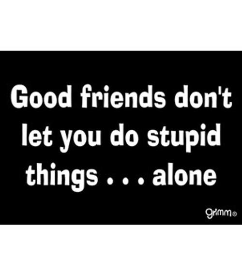 Good Friends Fridge Magnet
