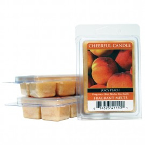 Juicy Peach Cheerful Candle Fragrance Melts