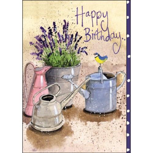 Birthday Card - In the Garden