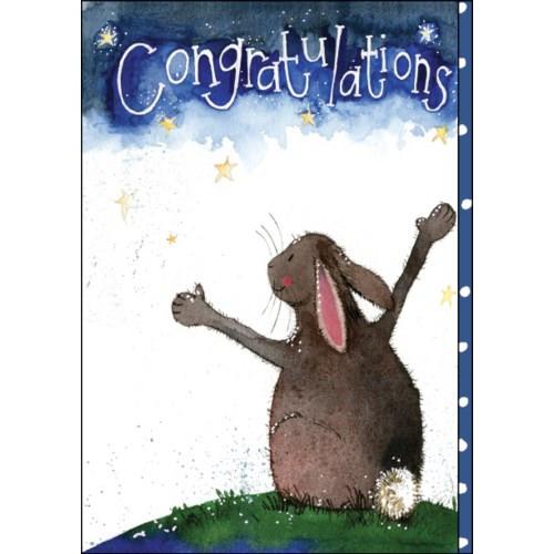 Card - Congratulations You did it PRINT