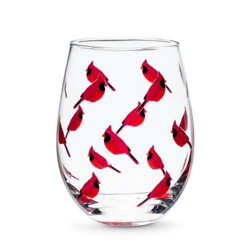 Stemless Cardinal Glass