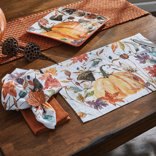 HARVEST HOME PLACEMATS (Set of 4 Placemats)