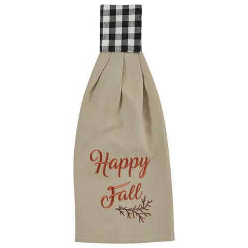 HAPPY FALL HAND TOWEL