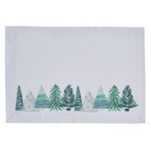 HAND PAINTED Holiday/Park Designs PLACEMATS (Set of 4)