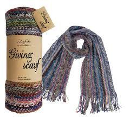 The Giving Scarf, multi-color