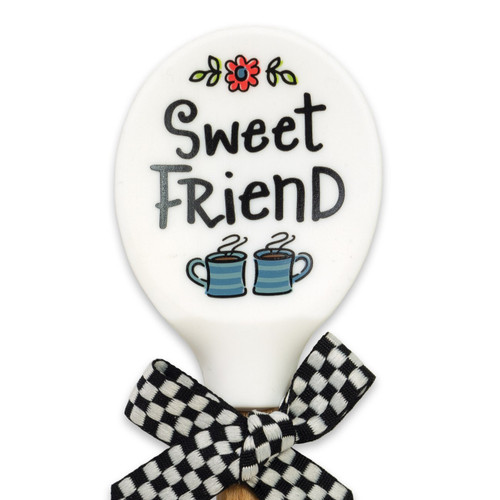 Sweet Friend Silicone Spoon