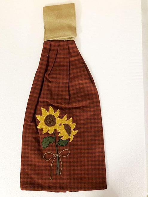 Sunflower Blooms Hand Towel