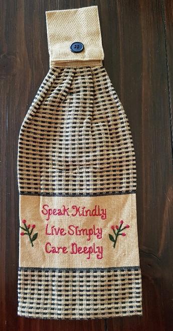 Speak Kindly Hand Towel
