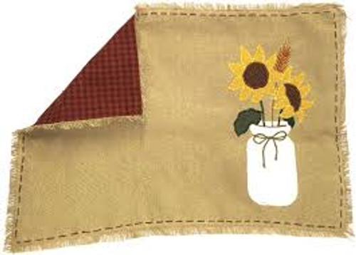 Sunflower Blooms Placemat by Park Designs