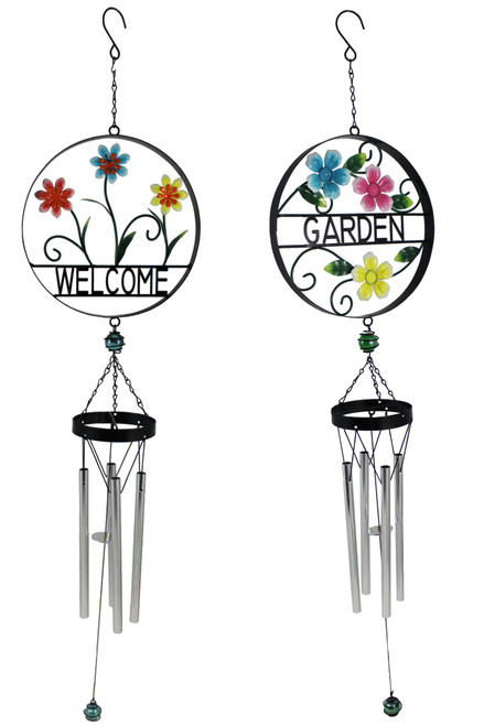 Flower Windchime - Choice of Garden or Welcome