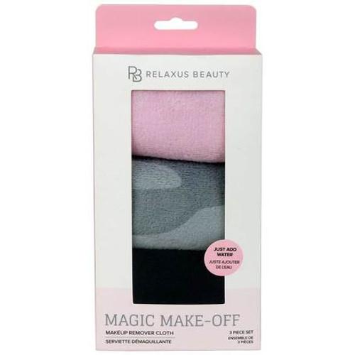 Magic Make-Off Makeup Remover Cloth (Set of 3)
