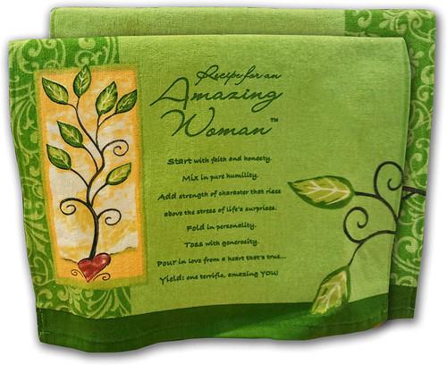 Amazing Woman Kitchen Towel