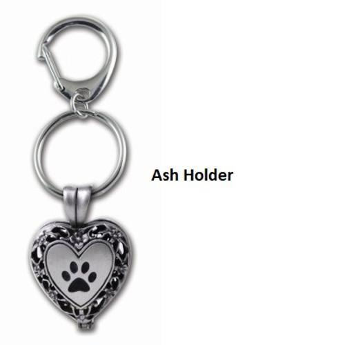 Heart Ash Holder Keyring - Gift Boxed