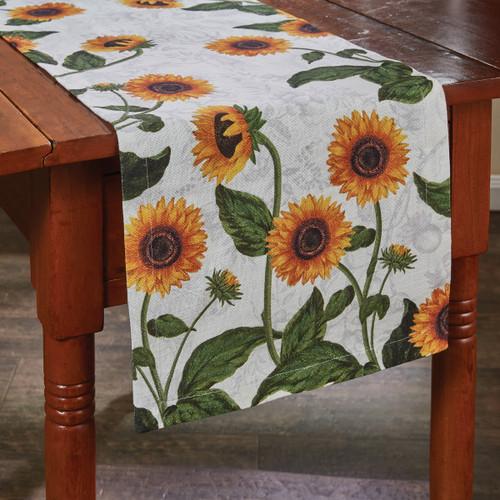 """Sunflower Table Runner  54"""" L"""