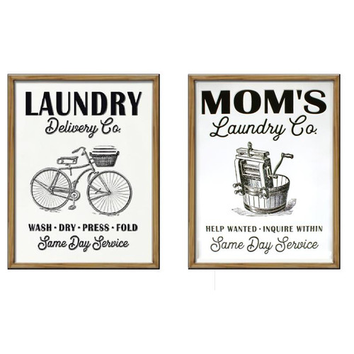 Laundry Sign - 2 Designs to choose from
