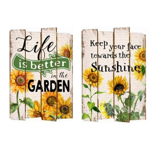 Sunflower Sign - 2 Designs to choose from