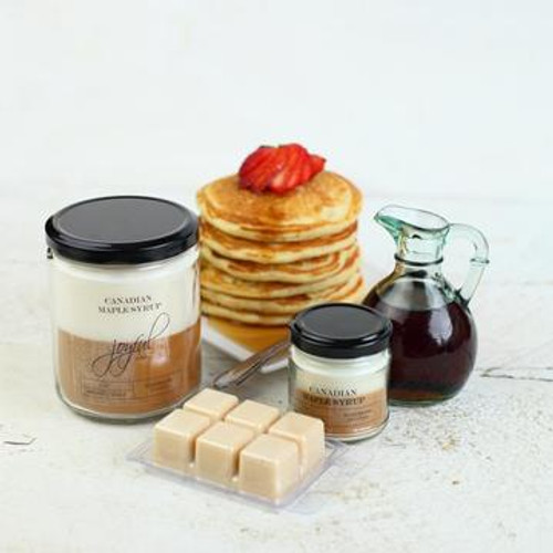16 oz Soy Candle - Canadian Maple Syrup
