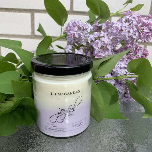16 oz Soy Candle - Lilac Garden