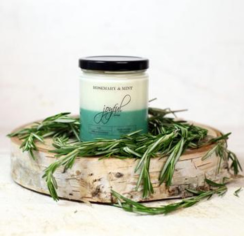16 oz Soy Candle - Rosemary & Mint