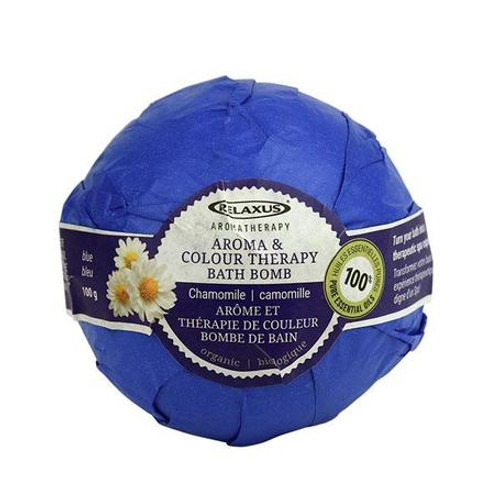Colour Therapy Bath Bomb - Blue Chamomile