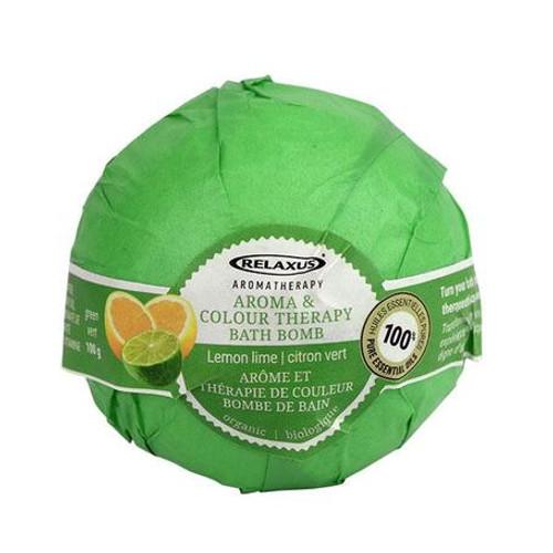 Colour Therapy Bath Bomb - Green Lemon & Lime