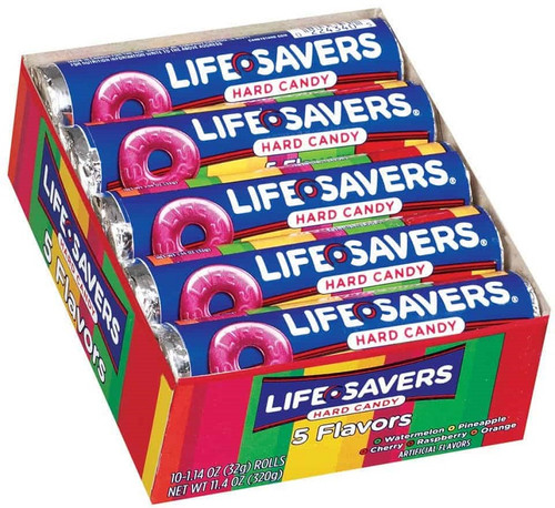 Lifesavers Roll 5 Flavors