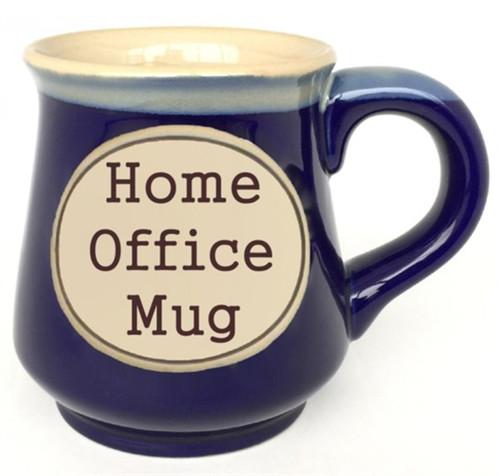 18oz Etched Mug - Home Office
