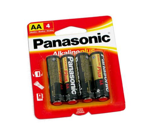 Panasonic AA Batteries (4 Pack)