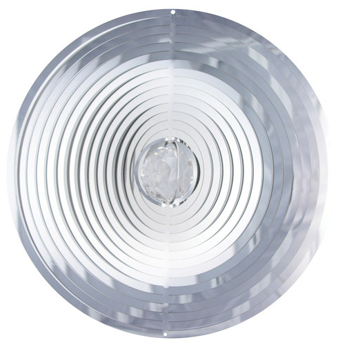 Wind Spinner-Mirror Collection LARGE CRYSTAL CIRCLE