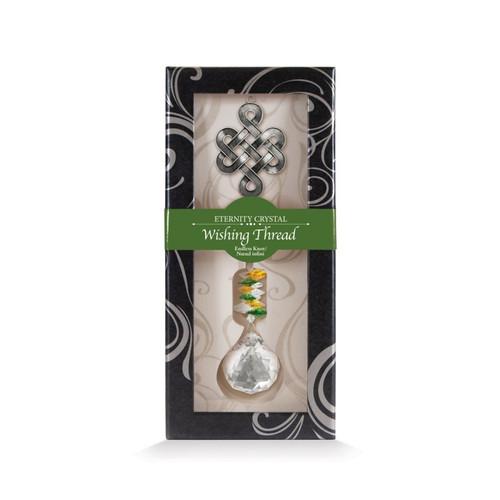 Crystal Wishing Thread - Endless Knot