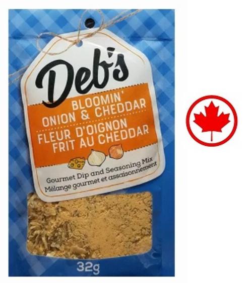 Deb's Dips Bloomin' Onion & Cheddar