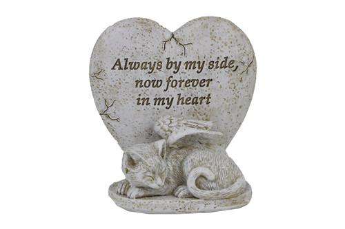 Heart - Cat Memorial Figurine