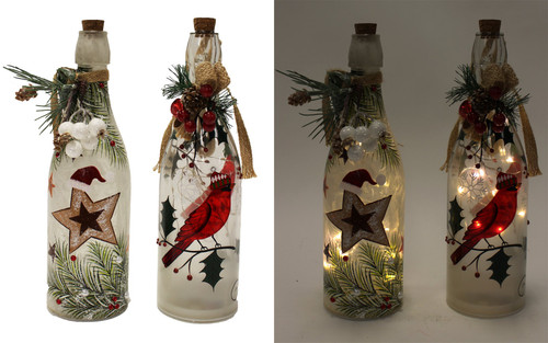 Decorative LED Bottle/2 Designs to choose from