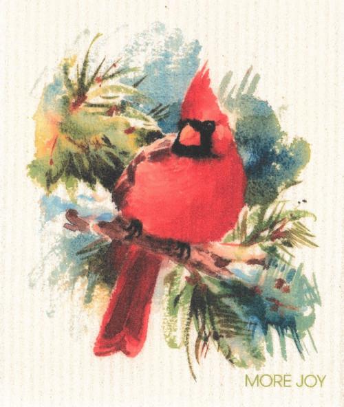 Cardinal- MORE JOY Dishcloth