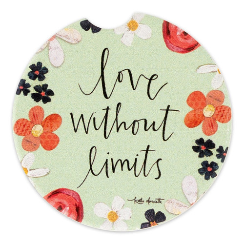 Love Without Limits Car Coaster
