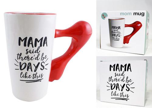 16oz Boxed Mama Said/High Heel Mug