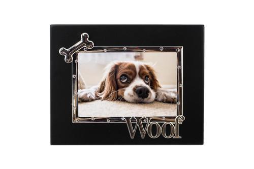Black Frame w/ Woof & Bone