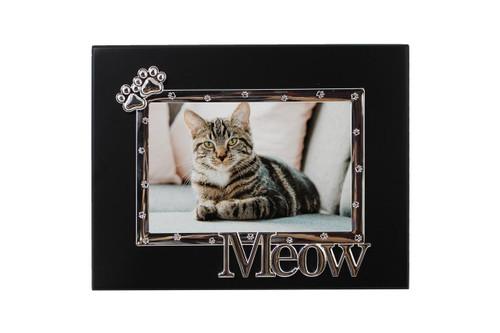 Black Frame w/ Paw & Meow